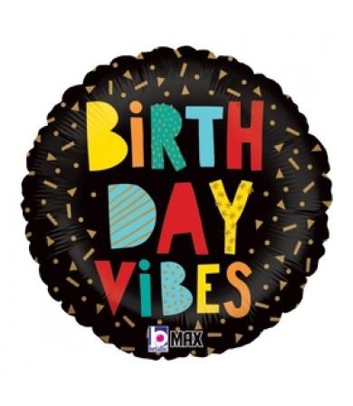 "26128P- Birthday Vibes (18"")"